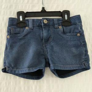 Levi's Denim / Jean Shorty Short size 4-5